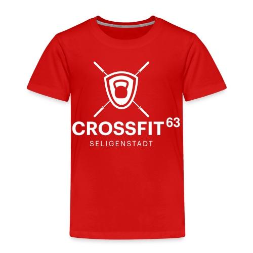 LogoCF63 - black - Kinder Premium T-Shirt