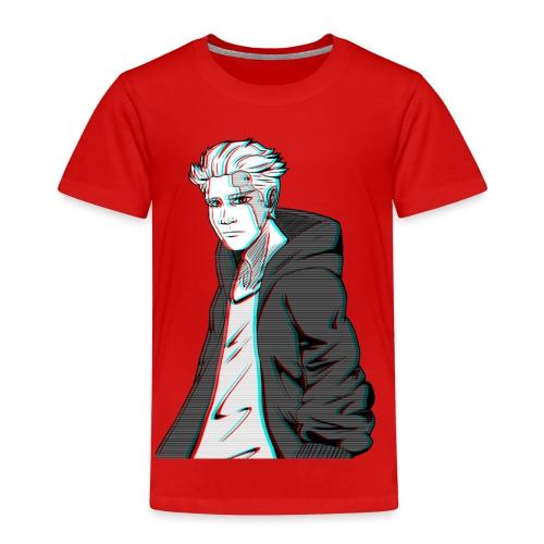 Cyber Glitch Guy - Kids' Premium T-Shirt