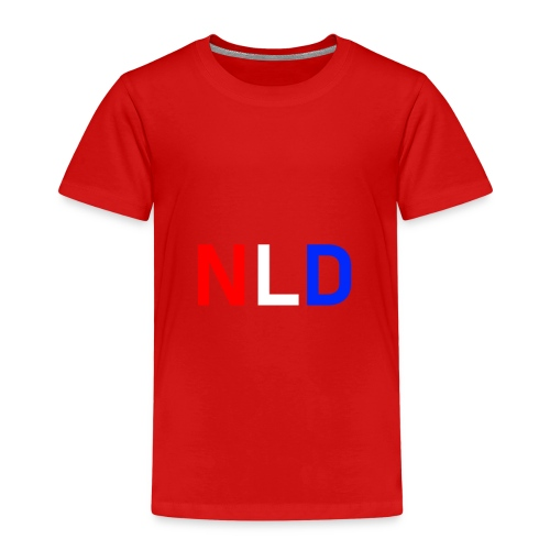 NLD kleur - Kinderen Premium T-shirt