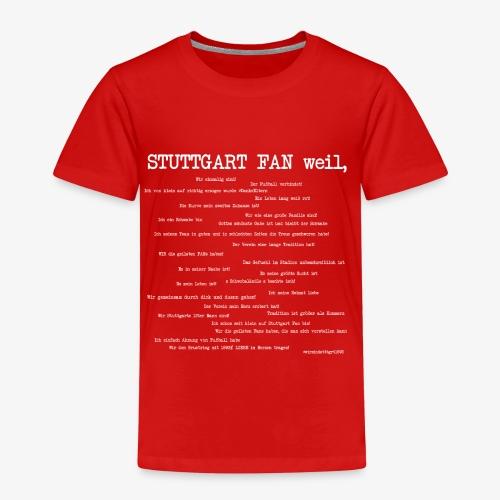 Stuttgart Community (weißer Aufdruck) - Kinder Premium T-Shirt