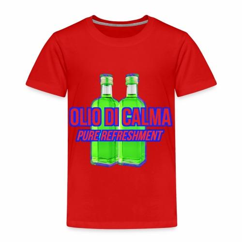 OLIO DI CALMA LINE - Maglietta Premium per bambini