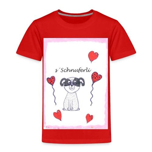 Mein Schnuferli - i love my Hündli - Kinder Premium T-Shirt