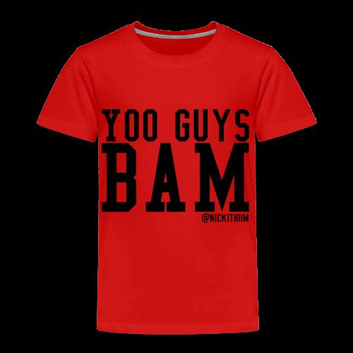 BAM! - Kinder Premium T-Shirt