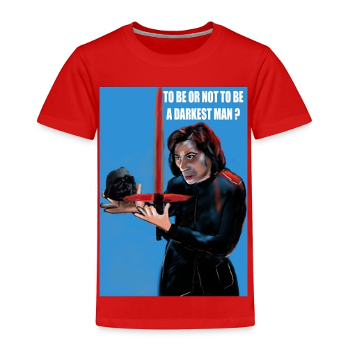 visuel tee shirt kylo to be or not a darkest man - T-shirt Premium Enfant