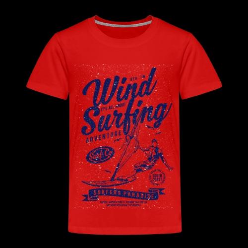 Wind Surfing - Kinder Premium T-Shirt