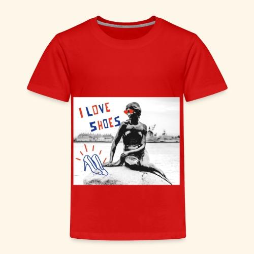 mermaid love shoes - Maglietta Premium per bambini