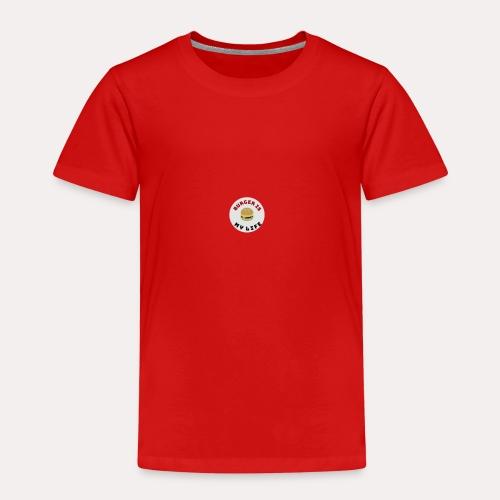 burger is my life - Kinder Premium T-Shirt