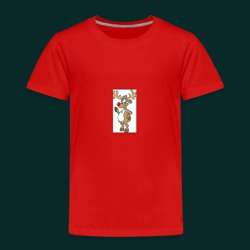 Baby-Lätzchen-Rentier-weihnachten - Kinder Premium T-Shirt