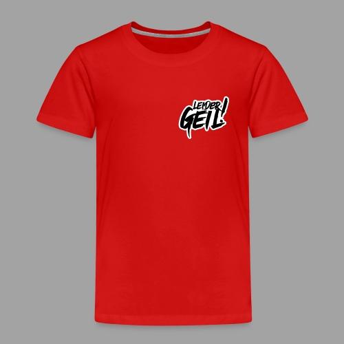 LeiderGeil-Schwarz - Kinder Premium T-Shirt