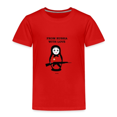 from russia with love - T-shirt Premium Enfant