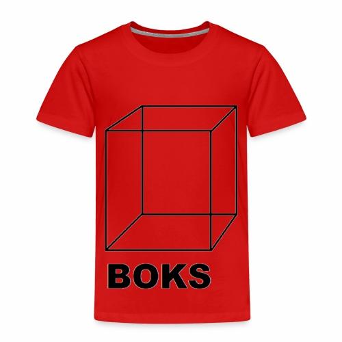 boks transparant - Kinderen Premium T-shirt