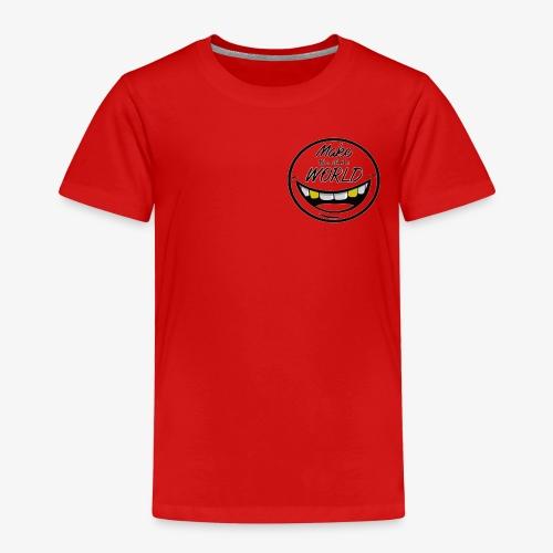 Make the whole World Smile - Kinder Premium T-Shirt