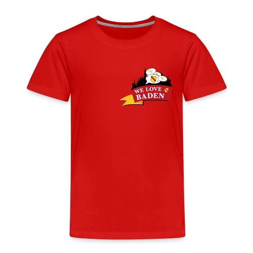 Badisch Gschwätz - Bei uns wird badisch g´schwätzt - Kinder Premium T-Shirt