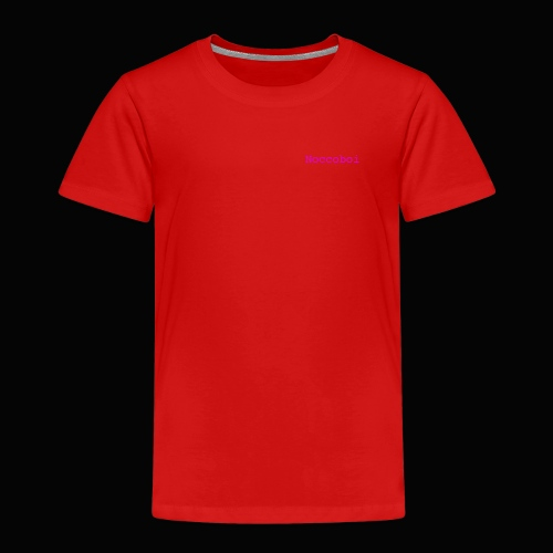 noccoboi oldschool logo - Premium-T-shirt barn