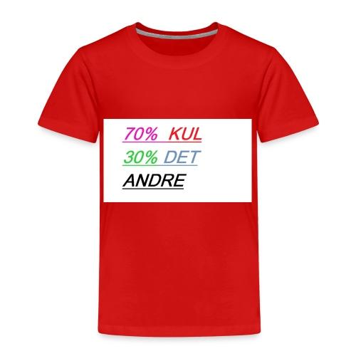 kul - Premium T-skjorte for barn