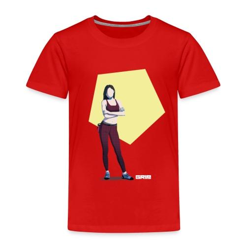 climbing girl - Camiseta premium niño