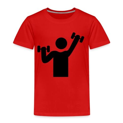 Bodybuilder - Kinder Premium T-Shirt