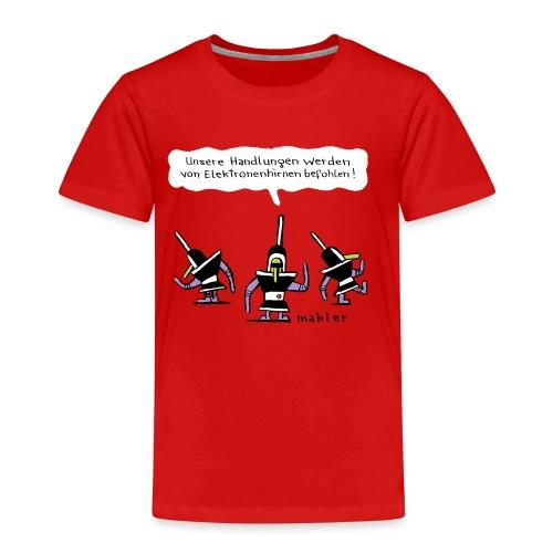 elektronenhirne - Kinder Premium T-Shirt