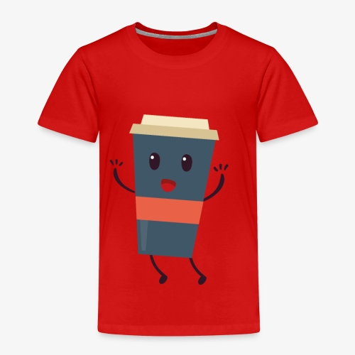 Caffee - Kinder Premium T-Shirt