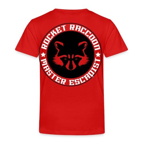 Rocket raccoon logo full - T-shirt Premium Enfant