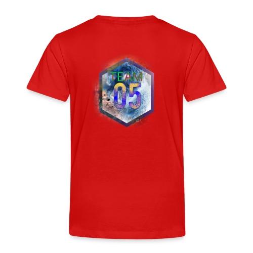 Very limited team05 logo - Børne premium T-shirt
