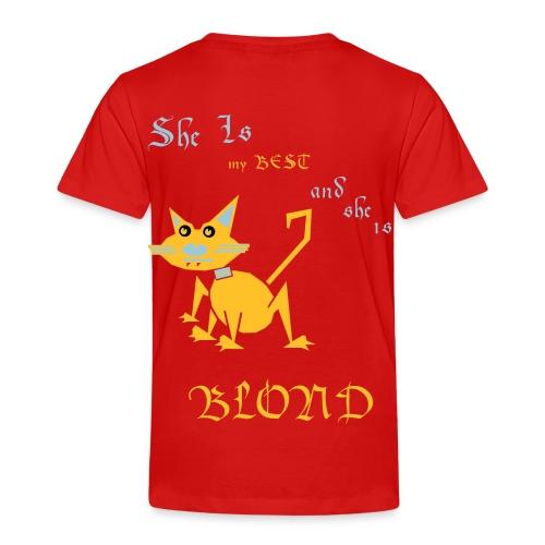 My best cat BLOND - Kids' Premium T-Shirt