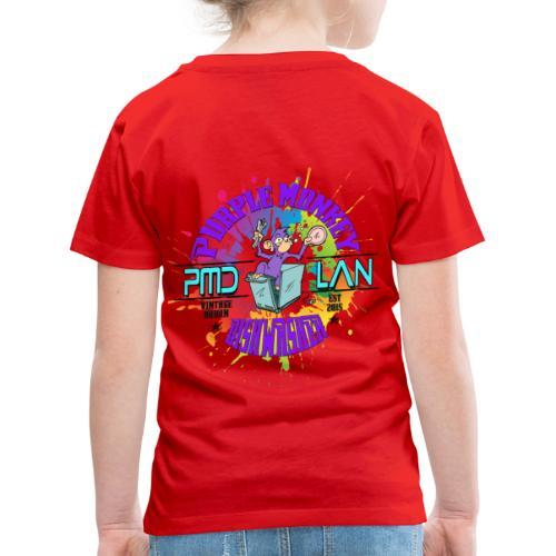 PMD Colour Burst - Kids' Premium T-Shirt