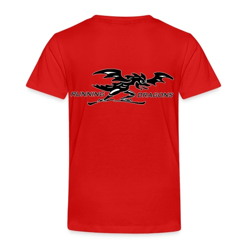Running Dragons - Kinder Premium T-Shirt