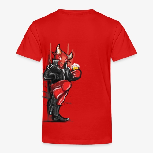 Don't mess with the Bull - Kinder Premium T-Shirt