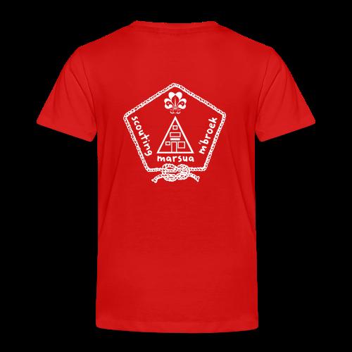 Marsua Wit - Kinderen Premium T-shirt