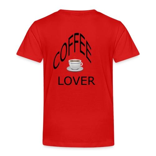 COFFEE lovers - Kids' Premium T-Shirt