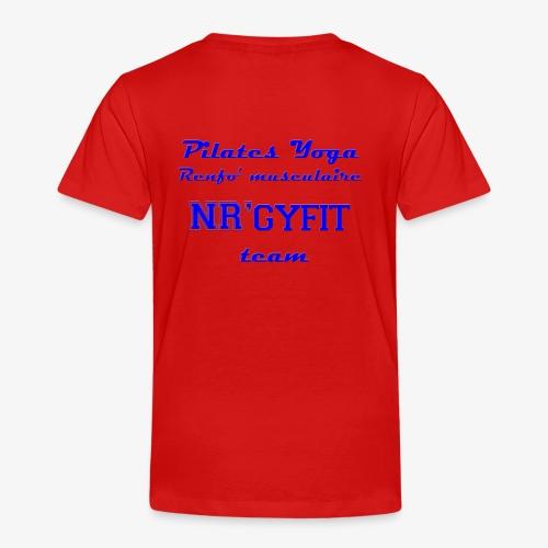 NRgyfit Team bleu Tshirt by NR'gyfit Nature - T-shirt Premium Enfant