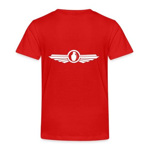Goonfleet wings logo - Kinder Premium T-Shirt