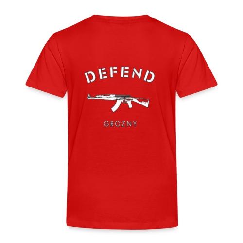 Defend Grozny - Kinder Premium T-Shirt