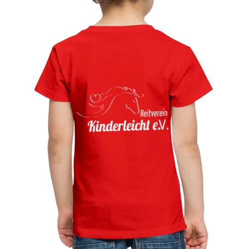 Reitverein Kinderleicht e.V. - Kinder Premium T-Shirt