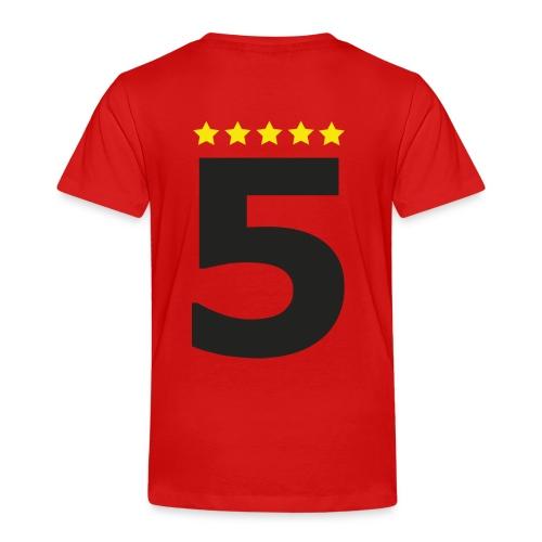 5 Sterne - Kinder Premium T-Shirt