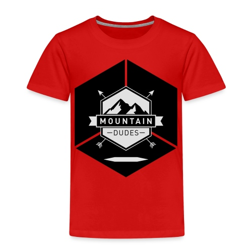 Mountain Dudes - Kinder Premium T-Shirt