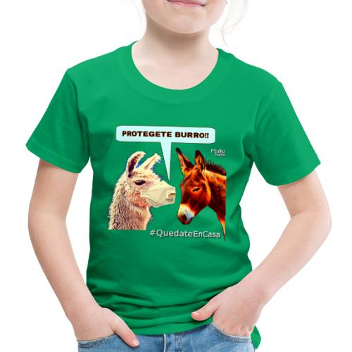 PROTEGETE BURRO - Kids' Premium T-Shirt