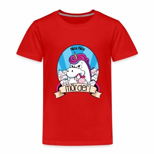 Murder Unicorn - Kinder Premium T-Shirt