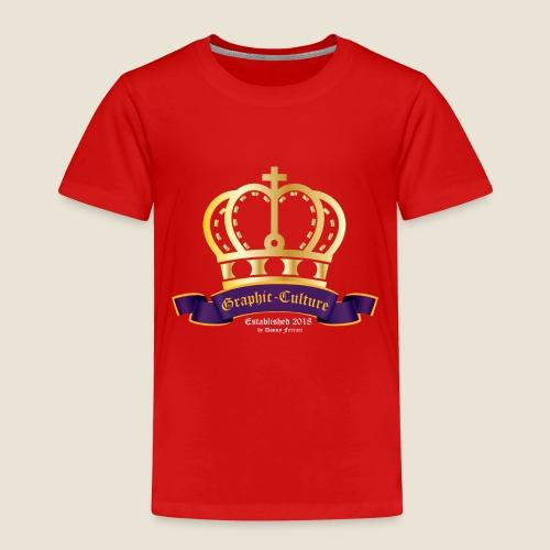 Goldene Krone - Kinder Premium T-Shirt