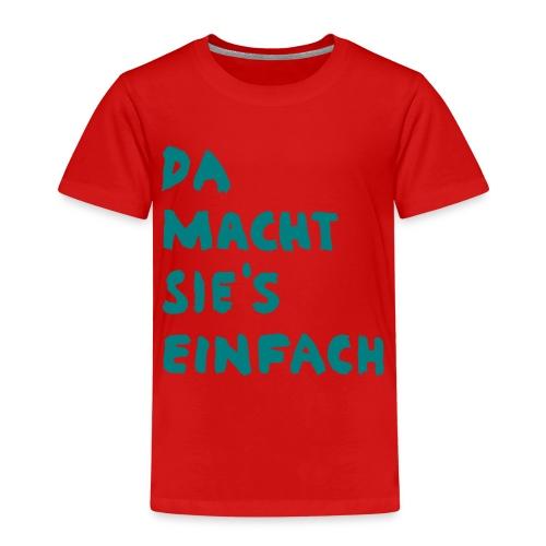Ella Da macht sies einfach - Kinder Premium T-Shirt