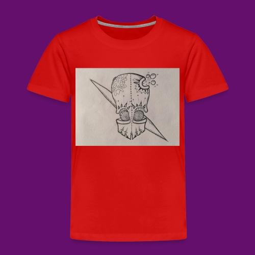 skull - Maglietta Premium per bambini