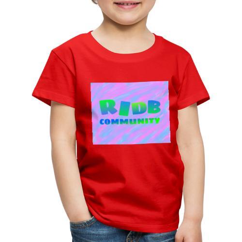 RIDB community - Kinderen Premium T-shirt
