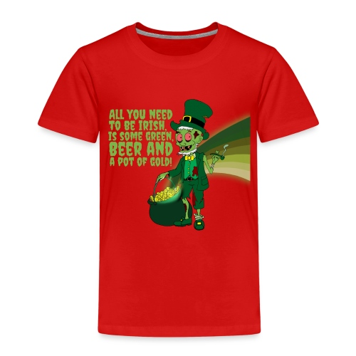 Irish man - Kids' Premium T-Shirt