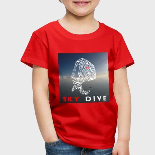 Fallschirm-Triangle - Kinder Premium T-Shirt