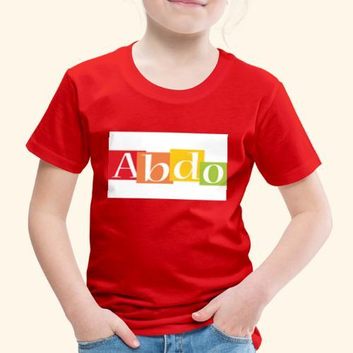 abdo 1 - T-shirt Premium Enfant