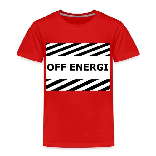 OFF ENERGI officiel merch - Premium-T-shirt barn