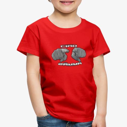 Ciao Zämma von Vifye - Kinder Premium T-Shirt
