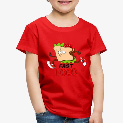 FAST FOOD - Camiseta premium niño