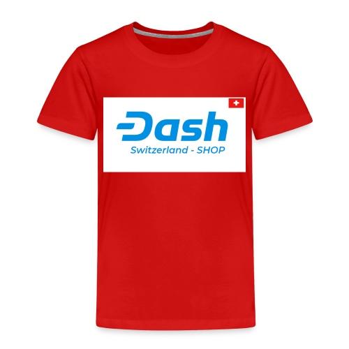 logo dash switzerland SHOP - Kinder Premium T-Shirt